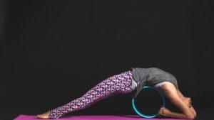 Yoga Rad Übung